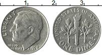 Изображение Монеты США 1 дайм 1978 Медно-никель XF Теодор Рузвельт.