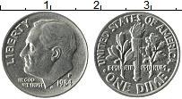 Изображение Монеты США 1 дайм 1984 Медно-никель XF