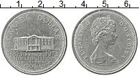 Изображение Монеты Канада 1 доллар 1973 Медно-никель UNC- Елизавета II. 100-ле