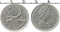 Изображение Монеты Канада 25 центов 1975 Медно-никель XF Елизавета II