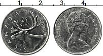 Изображение Монеты Канада 25 центов 1976 Медно-никель XF Елизавета II