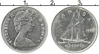 Изображение Монеты Канада 10 центов 1977 Медно-никель XF