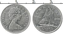 Изображение Монеты Канада 10 центов 1975 Медно-никель XF
