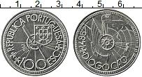 Изображение Монеты Португалия 100 эскудо 1987 Медно-никель UNC