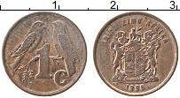 Изображение Монеты ЮАР 1 цент 1996 Бронза XF