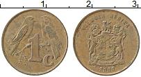 Изображение Монеты ЮАР 1 цент 2000 Бронза XF