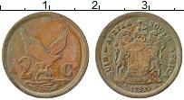 Изображение Монеты ЮАР 2 цента 1992 Бронза XF