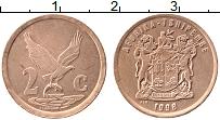 Изображение Монеты ЮАР 2 цента 1998 Бронза XF