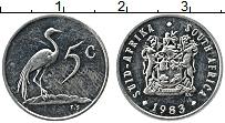 Изображение Монеты ЮАР 5 центов 1983 Медно-никель UNC-