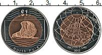 Продать Монеты Северный Полюс 1 доллар 2012 Биметалл