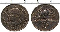 Изображение Монеты ЮАР 2 цента 1979 Бронза XF