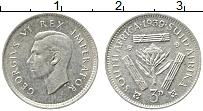 Изображение Монеты ЮАР 3 пенса 1939 Серебро XF