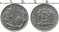 Изображение Монеты ЮАР 20 центов 1978 Медно-никель XF