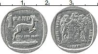 Изображение Монеты ЮАР 1 ранд 1992 Медно-никель XF