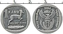 Изображение Монеты ЮАР 1 ранд 2004 Медно-никель XF