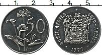 Изображение Монеты ЮАР 50 центов 1977 Медно-никель UNC-
