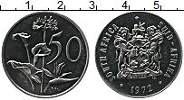 Изображение Монеты ЮАР 50 центов 1972 Медно-никель UNC-