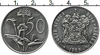 Изображение Монеты ЮАР 50 центов 1985 Медно-никель XF