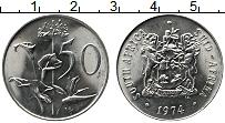 Изображение Монеты ЮАР 50 центов 1974 Медно-никель UNC