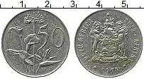Изображение Монеты ЮАР 50 центов 1970 Медно-никель XF