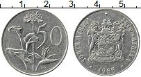 Изображение Монеты ЮАР 50 центов 1988 Медно-никель XF