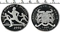 Изображение Монеты Бенин 1000 франков 1995 Серебро Proof-