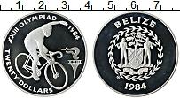 Продать Монеты Белиз 20 долларов 1984 Серебро
