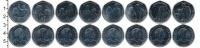 Изображение Подарочные монеты Остров Мэн 50 пенсов 2017 Медно-никель UNC