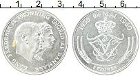Изображение Монеты Дания 5 крон 1960 Серебро XF