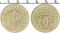 Изображение Монеты Дания 2 кроны 1926 Латунь XF Кристиан Х