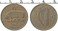 Изображение Монеты Ирландия 1/2 пенни 1928 Медь XF