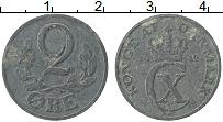 Изображение Монеты Дания 2 эре 1942 Цинк XF