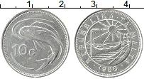 Изображение Монеты Мальта 10 центов 1986 Медно-никель XF