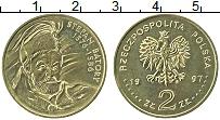 Изображение Монеты Польша 2 злотых 1997 Латунь UNC-