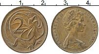 Изображение Монеты Австралия 2 цента 1980 Медь XF Елизавета II