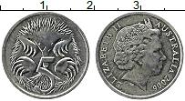 Изображение Монеты Австралия 5 центов 2006 Медно-никель XF Елизавета II