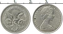 Изображение Монеты Австралия 5 центов 1979 Медно-никель XF