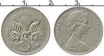 Изображение Монеты Австралия 5 центов 1971 Медно-никель XF Елизавета II. Ехидна