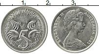 Изображение Монеты Австралия 5 центов 1982 Медно-никель XF Елизавета II