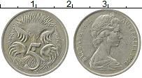 Изображение Монеты Австралия 5 центов 1978 Медно-никель XF Елизавета II. Ехидна