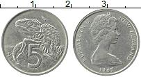 Изображение Монеты Новая Зеландия 5 центов 1967 Медно-никель XF