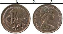 Изображение Монеты Австралия 1 цент 1980 Медь XF