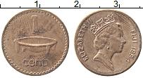 Изображение Монеты Фиджи 1 цент 1994 Медь XF