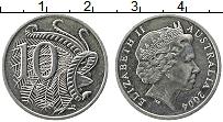 Изображение Монеты Австралия 10 центов 2004 Медно-никель UNC-