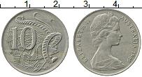 Изображение Монеты Австралия 10 центов 1969 Медно-никель XF Елизавета II