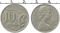 Изображение Монеты Австралия 10 центов 1975 Медно-никель XF