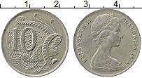 Изображение Монеты Австралия 10 центов 1976 Медно-никель XF