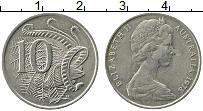 Изображение Монеты Австралия 10 центов 1978 Медно-никель XF Елизавета II. Лирохв