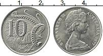 Изображение Монеты Австралия 10 центов 1977 Медно-никель XF