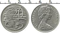 Изображение Монеты Австралия 20 центов 1977 Медно-никель XF Елизавета II. Утконо